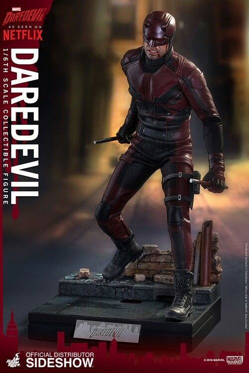 1/6 Sixth Scale Marvel DaROTevil Figure by Hot Toys 902811 Used JC
