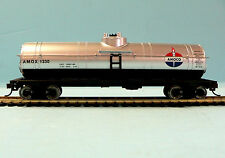 HO Scale Model Railroad Trains Layout Walthers Amoco Oil Tanker Car 931-1613
