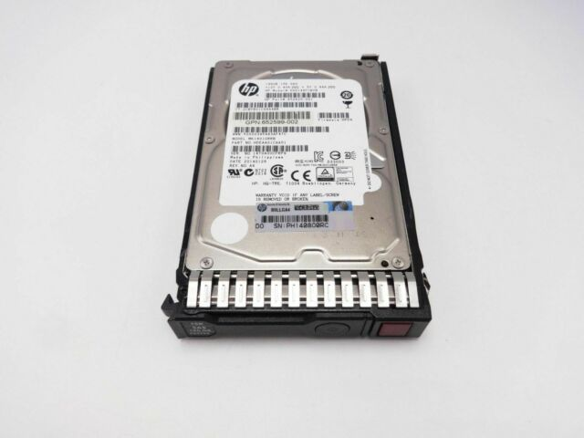 HP 653950-001 146GB 6G SAS 15K 2.5IN Hard Drive 652605-B21