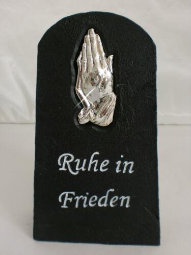 Anzmann Totensonntag Friedhof Grabdeko Grabschmuck Spruch Tafel Allerheiligen