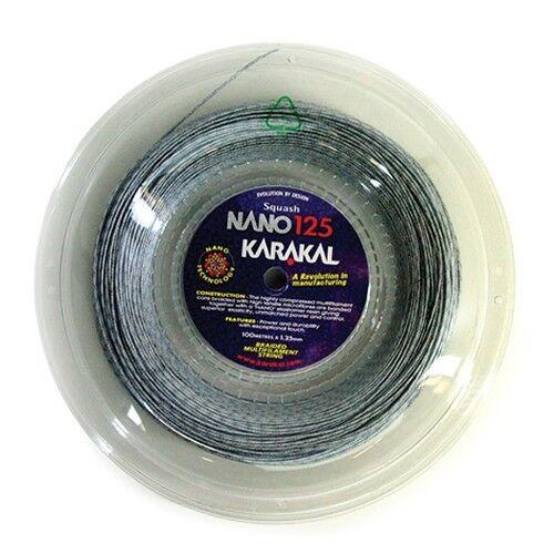 Karakal Karakal Karakal Nano 125 Squash Stringa 100m REEL f8bd79
