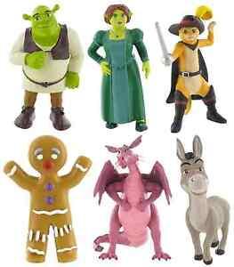 Bullyland Comansi Official Shrek Toy Figure Cake Topper Toppers Pour Assurer Une Transmission En Douceur