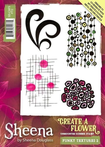 Sheena Douglass Dies /& Stamps Create A Flower Crafters Companion Stencils
