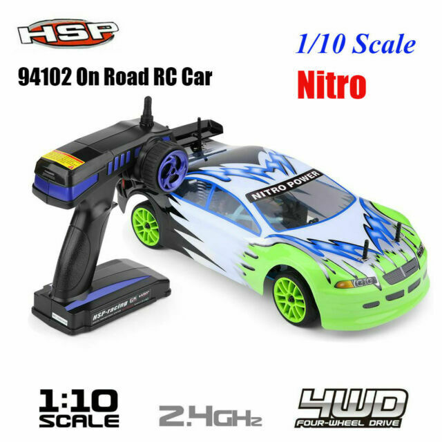 Hsp 94102 1 10 Scale 4wd Gas Powered Nitro On Road Racing Car Drift Vehicle Rtr For Sale Online Ebay
