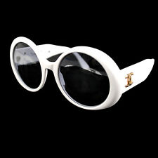f7223f548fd item 7 ULTRA RARE! AUTH CHANEL CC ROUND FRAME VINTAGE SUNGLASSES WHITE EYE  WEAR AK02614 -ULTRA RARE! AUTH CHANEL CC ROUND FRAME VINTAGE SUNGLASSES  WHITE EYE ...
