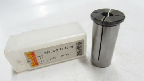 1 new SANDVIK Coromant 393.CG-25 10 56 Cylindrical collets for Hydro-Grip