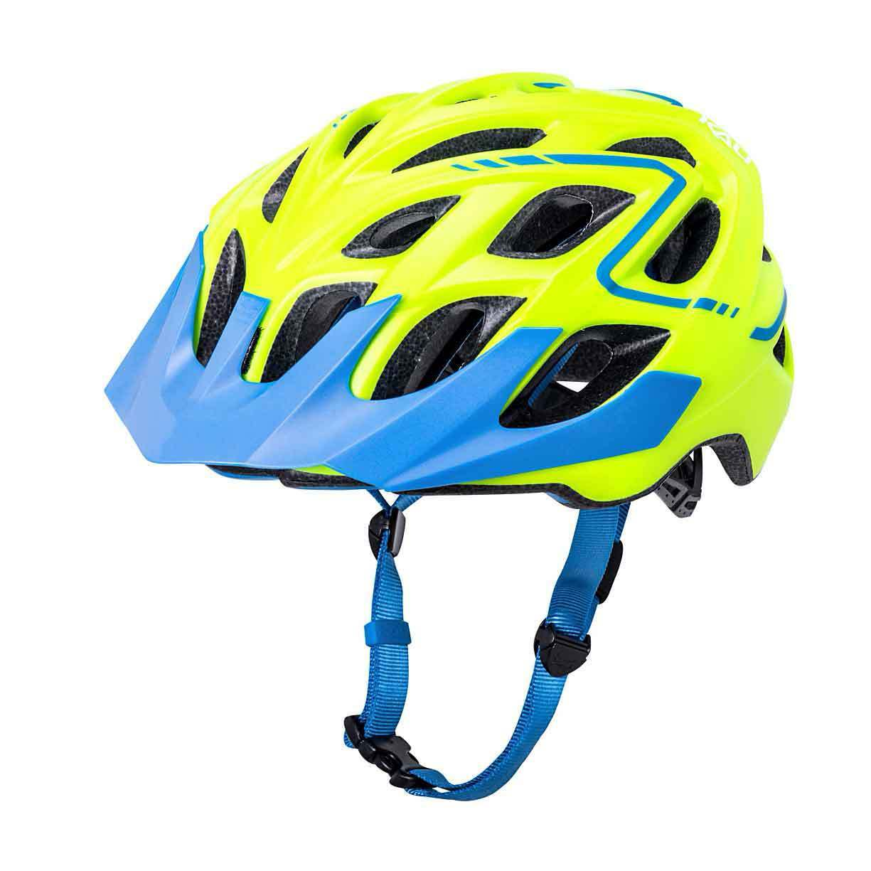 Kali Predectives  Chakra Plus Reflex Helmet Matte Fluo Yellow bluee Large X-Large  60% off