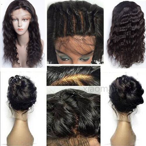 Body Wave Brazilian Human Hair Full Lace Wigs Lace Front Wigs With Baby Hair #xm