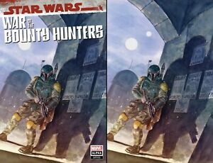 Star Wars War of the Bounty Hunters Alpha Lopez Exclusive Variant COMBO NM
