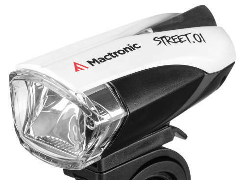 Mactronic Street.01 Fahrradlampe Fahrradbeleuchtung Fahrradlicht 140lm , AKKU