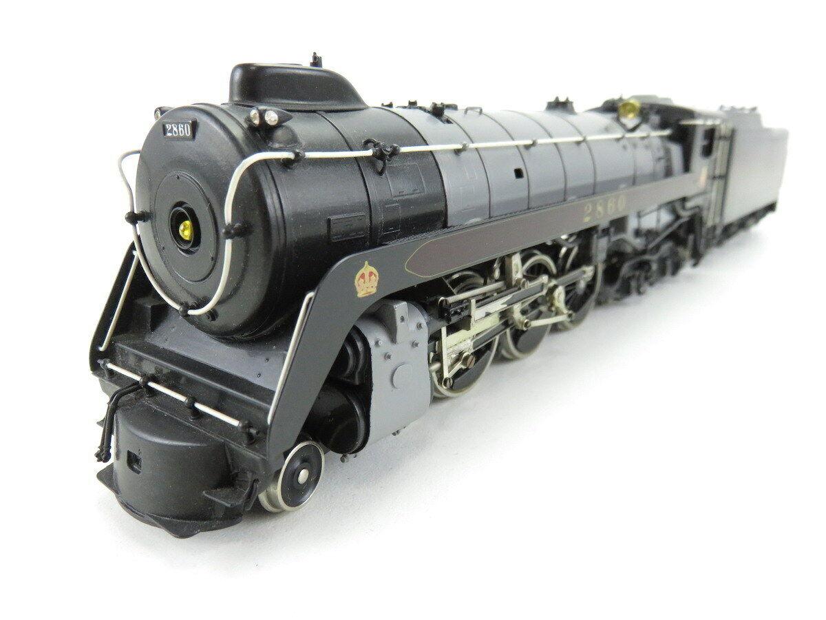(jp042) Tenshodo dc h0 us-máquina de vapor 4-6-4  2860 el Hudson Canadian Pacific, PPE