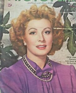 Vintage-Collectible-Photoplay-Movie-Magazine-Greer-Garson-May-1945
