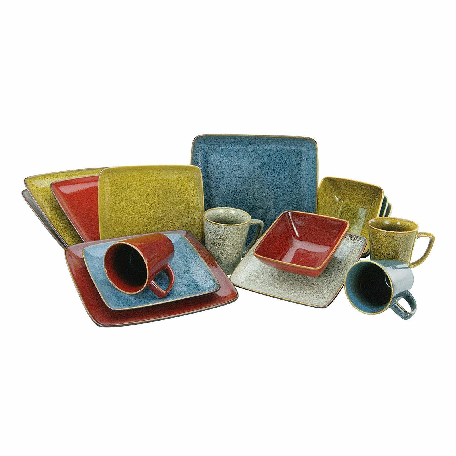Retro Style Kombiservice Geschirr 16tl Steinzeug 4 Personen Creatable 22316 Gb For Sale Online Ebay