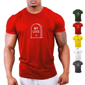 239e45f8cc168 Details about RIP My Legs Gym T-Shirt | Bodybuilding Clothing Workout  Training GYMTIER