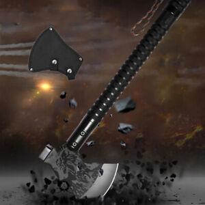 Tactical Tomahawk Survival Axe Folding Portable Camping Axe Multi-Tool Hatchet