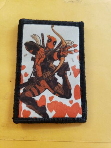 Captain Marvel Morale Patch Funny Tactical ARMY Hook Military USA WWII