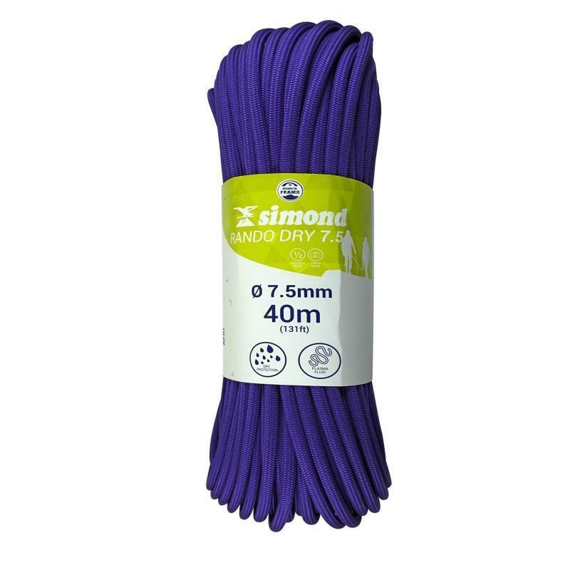 b8c641e5b9 SIMOND RANDO DRY 7.5 mm x 40 - Purple Rope m onhomh3535-Ropes