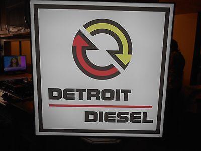 Detroit Diesel Lighted Sign