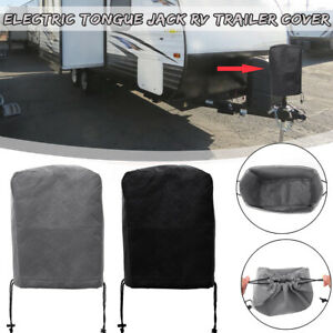 30x33cm-Universal-Electric-Tongue-Jack-Cover-Protector-For-RV-Trailer-Camper