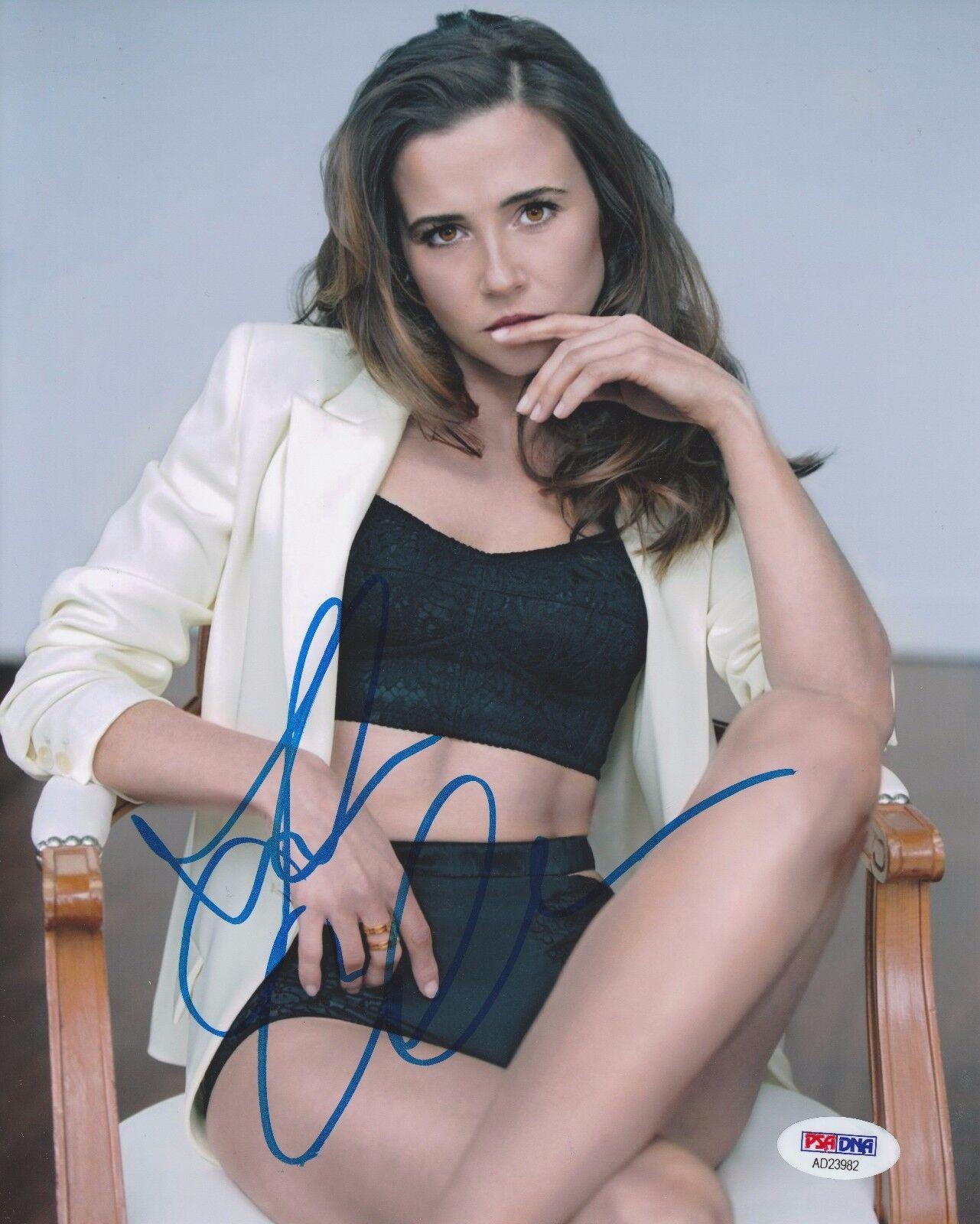 Linda Cardellini Signed 8x10 Photo *Model *ER *Daddy's Home *Avengers PSA