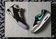 Nike Air Jordan X Max Pack SZ 8 ATMOS Safari 3 Elephant 1 Retro OG 923098-900