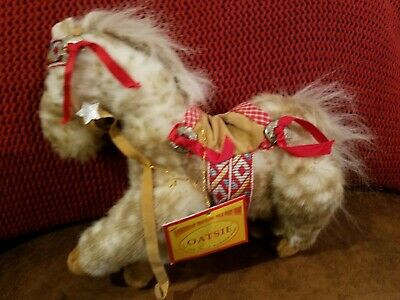 Muffy Vanderbear Oatsie Appaloosa Pony Wild West Traveling Rodeo Show Dressed