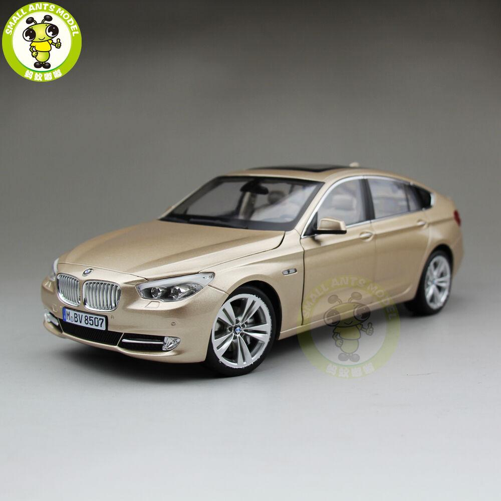 1 18 BMW 5 Series Gran Turismo 5GT F07 xDrive RMZ MODEL Diecast Model Car gold