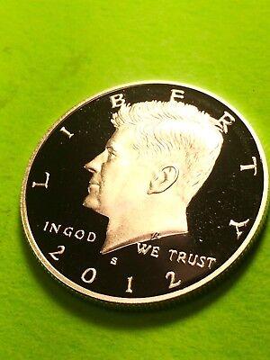 2012-S Silver Proof Kennedy Half Dollar