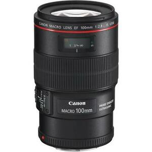Canon EF 100mm f/2.8L Macro IS USM Lens 13803108620