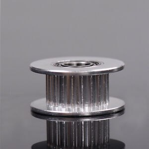 3D-Printer-Parts-20T-Belt-Width-6mm-GT2-Belt-Idler-Pulley-5mm-Bore-Aluminum-RG