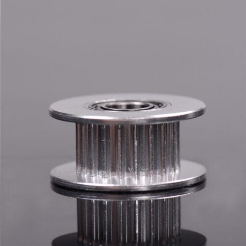 3D Printer Parts 20T Belt Width 6mm GT2 Belt Idler Pulley 5mm Bore Aluminum*  SP
