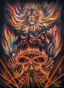Lion Fantasy Art