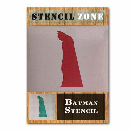 Batman Stood Cape Robin Hero Mylar Airbrush Peinture isanat Pochoir