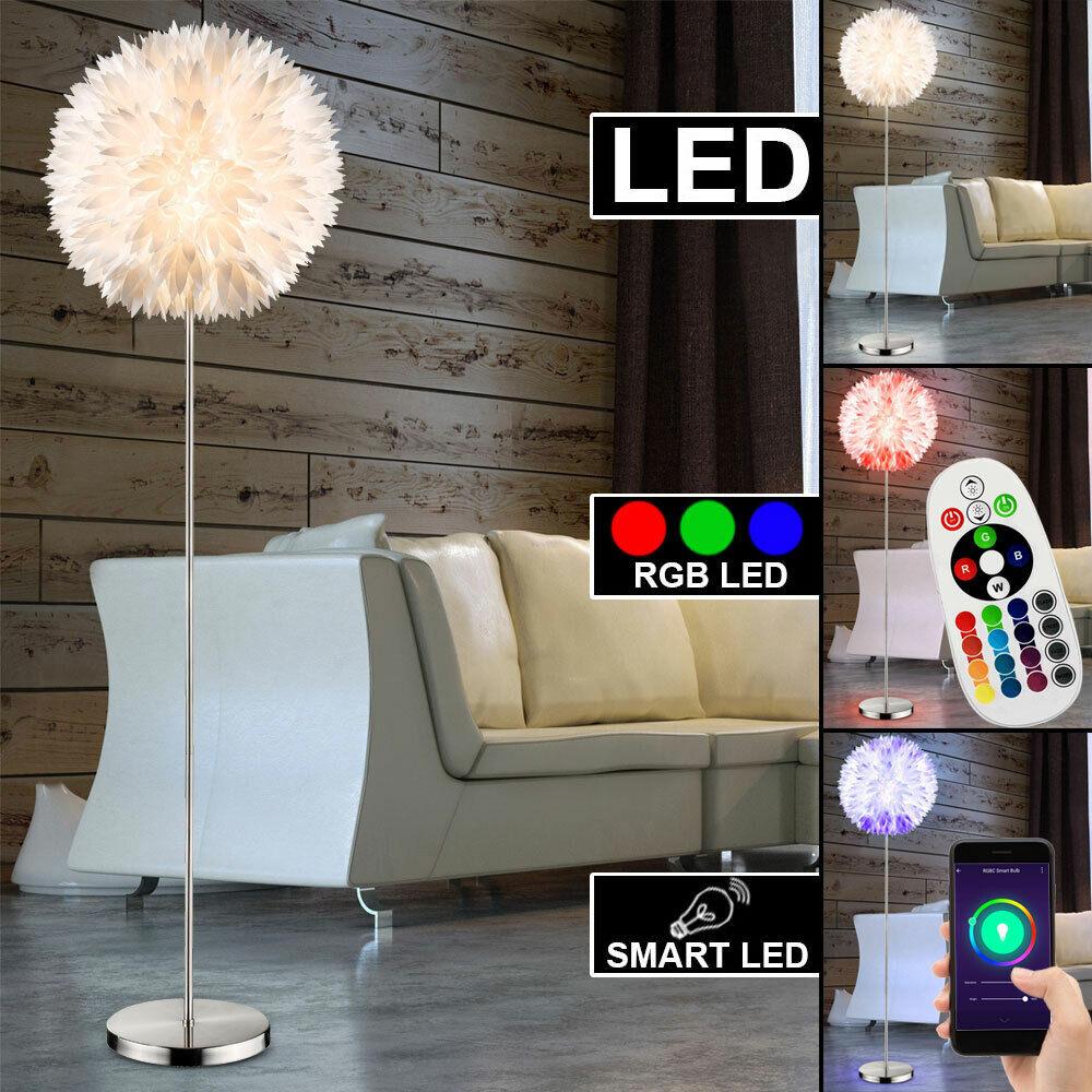 Smart LED Stand Steh Leuchte RGB Fernbedienung Alexa Google Home dimmbar Lampe