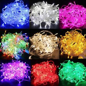 10M-20M-100M-Festa-di-Natale-LED-di-spina-luci-Natale-fata-String-luci-30M-50M