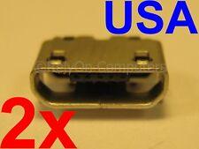 10X USB Data Sync Charging Port DC Power Jack for Garmin Nuvi 2457LMT GPS Unit