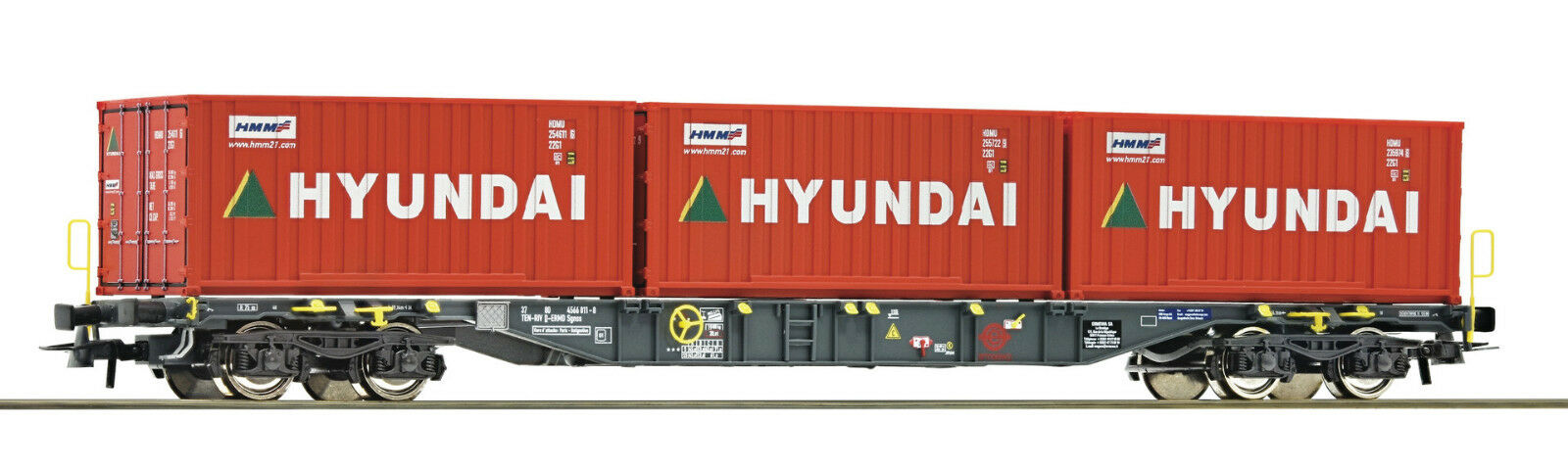 Roco 76932 contenedores carro ermewa hyundai a petición achstausch F. Märklin gratis