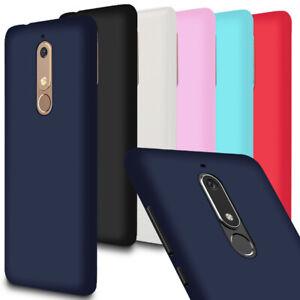 Leger-Mince-Pare-Chocs-pour-Nokia-5-1-Nokia-5-1-plus-Case-Mat-Silicone-Champagne