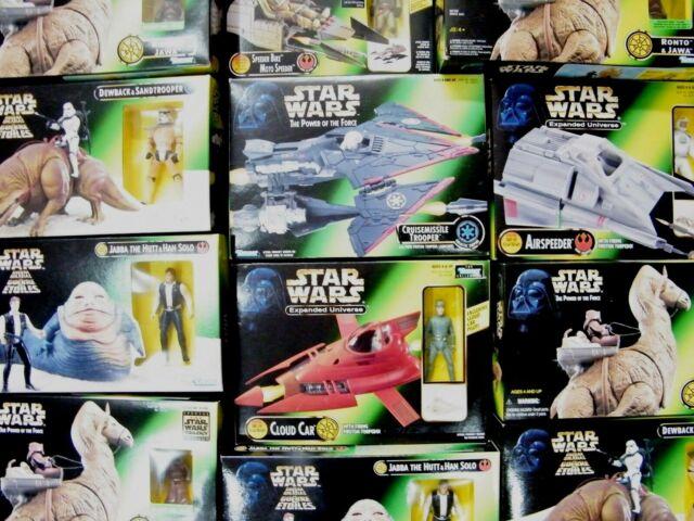Star Wars Mezcladas POTF2 & Ep.1 Figura Packs / Vehículos - MIB - Ver Fotos