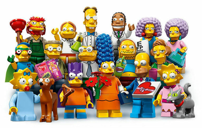 Lego minifigures serie complet de personnages simpson 2 simpsons 71009  NEUF