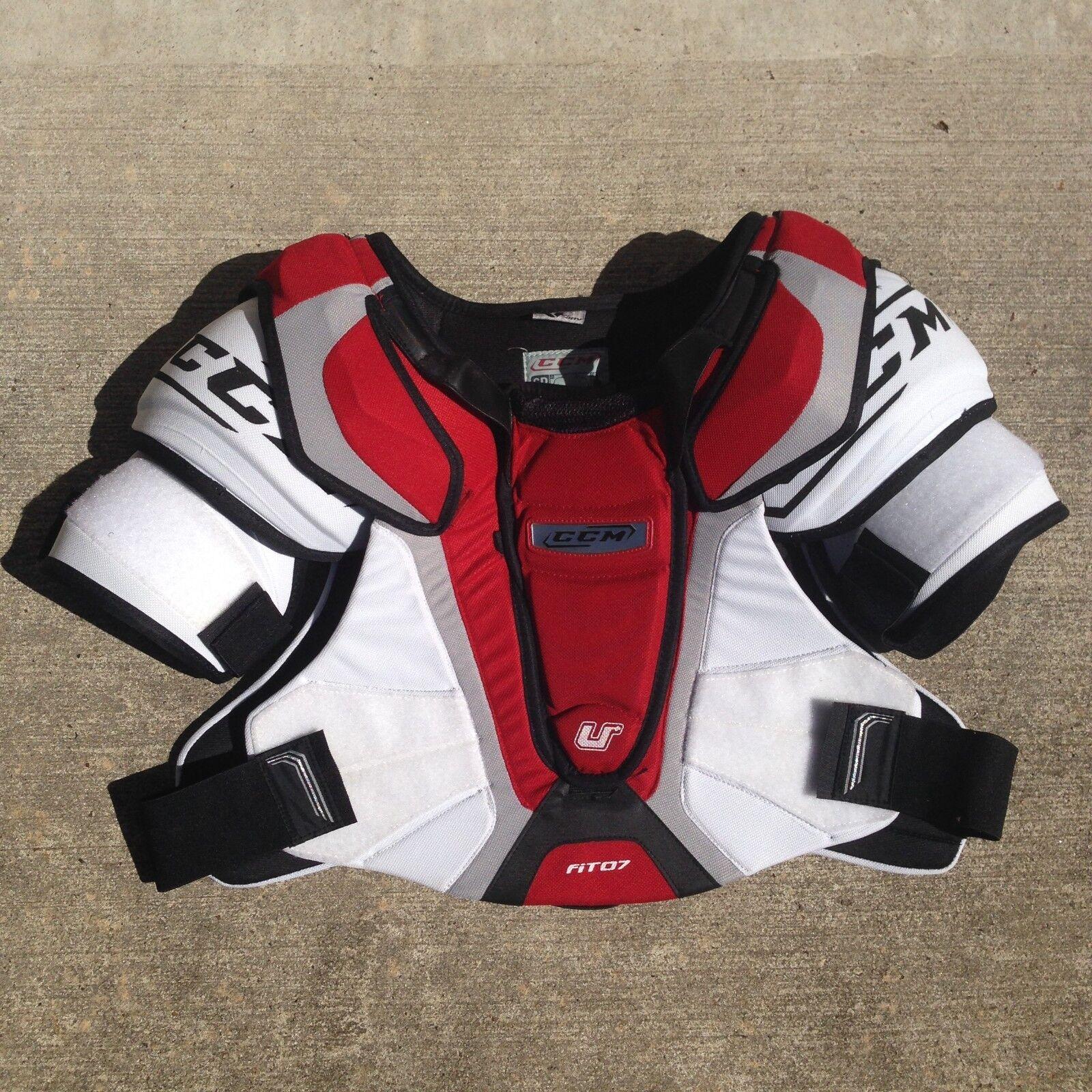 CCM U+ Fit 07 All Sizes Junior and Senior Shoulder Pads