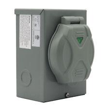 Outdoor Use Rv 30a Generator Power Inlet Box Nema L14 30p 125250volt Etl Listed