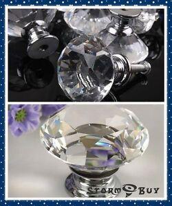 Crystal-Glass-Knob-Kitchen-Door-Bar-Cabinet-Drawer-Pull-Handle-Hardware-Handles