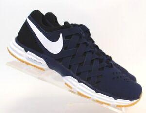 16be5d91694c Nike Lunar Fingertrap TR Men s Size 9.5 - Navy Blue White Black
