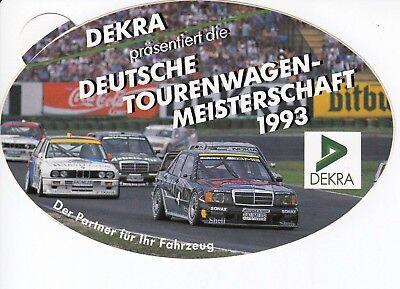 Dtm Deutsche Tourenwagen Mercedes W201 Bmw M3 E30 Sticker Aufkleber 1993 16