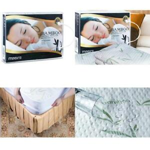 Waterproof Mattress Cover King Size Bamboo Hypoallergenic Deep Pocket Protector