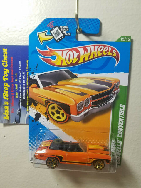2012 Hot Wheels Treasure Hunts /'70 Chevy Chevelle Convertible Limited Edition