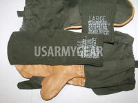 Us Army Cold Weather Trigger Finger Hunting Glove Mittens Military Surplus L