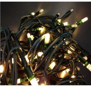 Tannenbaum Lichterkette Led.Details Zu 80er Außen Led Lichterkette Für Tannenbaum Weihnachsbeleuchtung Warmweiß Lichter