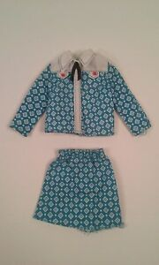Ascot XSS Vintage 1950/'s1960/'s Blouse 2 Piece Outfit Floral Skirt New Look Accordion Pleated